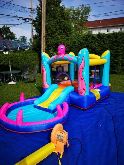 À Vendre Jeux Gonflables Résidentiels Usagés